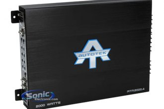 Autotek® - ATA Series 4-Channel 2000W Amplifier