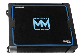 Autotek® - Mean Machine Series Class D Mono 2500W Amplifier