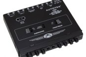Autotek® - 4-Band Equalizer with Built-In 2-Way Crossover