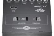 Autotek® - 4-Band Half DIN 2-Way Equalizer with Built-In Crossover