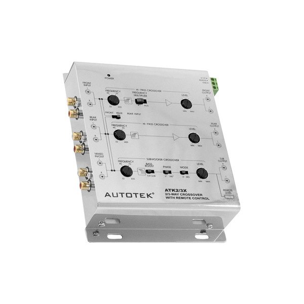 Autotek® - 2-Way / 3-Way Active Hideaway Crossover