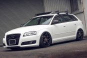 AVANT GARDE® - F310 Custom Painted on Audi A3