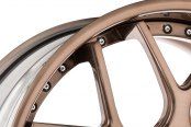 AVANT GARDE® - F410 Brushed Antique Copper Close-Up