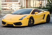 AVANT GARDE® - F410 Custom Painted on Lamborghini Gallardo