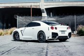 AVANT GARDE® - F410 Custom Painted on Nissan GT-R