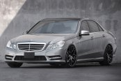 AVANT GARDE® - M310 Matte Black on Mercedes E Class