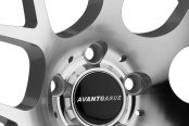 AVANT GARDE® - M310 Silver with Machined Face Close-Up