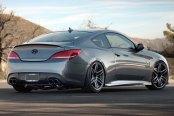 AVANT GARDE® - M368 Matte Dolphin Gray on Hyundai Genesis Coupe
