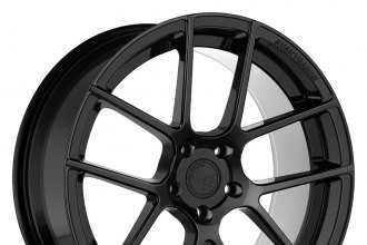 "AVANT GARDE® - M510 BESPOKE Matte Black Powdercoated (19"" x 8.5"", +15 to +35 Offsets, 5x98-130 Bolt Patterns, 76mm Hub)"