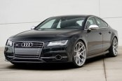 AVANT GARDE® - M510 Matte Silver with Machined Face on Audi S7