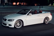 AVANT GARDE® - M510 Matte Silver with Machined Face on BMW 3-Series