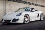 AVANT GARDE® - M510 Matte Silver with Machined Face on Porsche Boxster