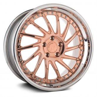 AVANT GARDE® - F151 Polished Copper with Chrome Lip
