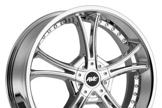 "AVENUE® - A604 Chrome (20"" x 8"", +40 Offset, 5x114.3 Bolt Pattern, 73mm Hub)"