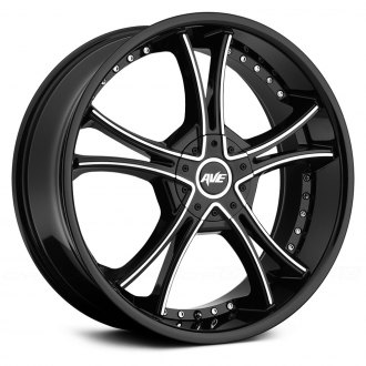 AVENUE® - A604 Gloss Black with Machined Face