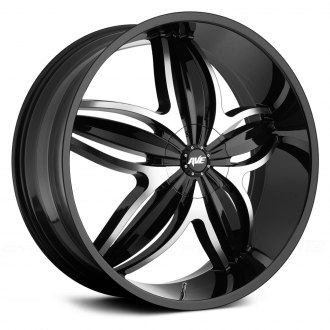 AVENUE® - A609 Gloss Black with Machined Face