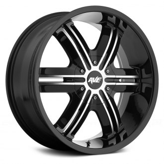 AVENUE® - A612 Gloss Black with Machined Face