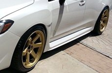 AVID.1® - AV-06 Gold on Subaru WRX