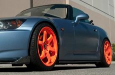 AVID.1® - AV-06 Matte Orange on Honda S2000