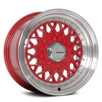 AVID.1® - AV-05 Red with Machined Lip
