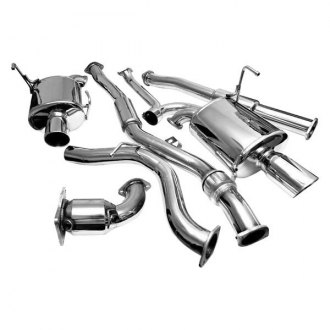 AVO® - Stainless Steel Cat-Back Exhaust System with Split Rear Exit