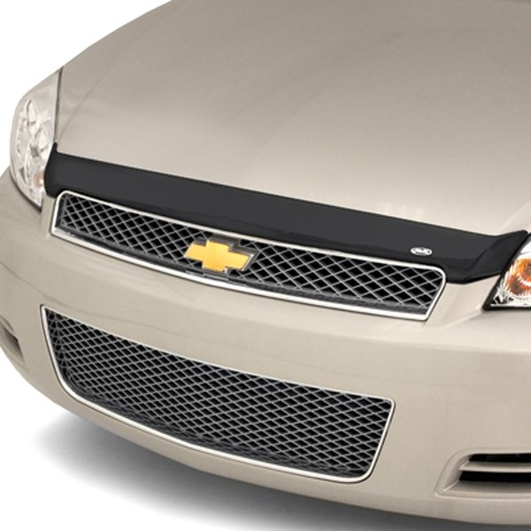 Image may not reflect your exact vehicle! AVS® - Small Acrylic Aeroskin™ Hood Shield