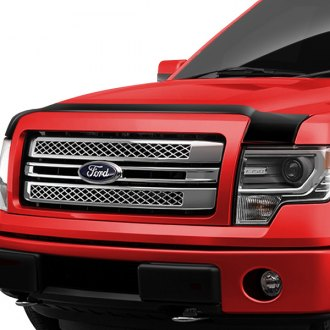 Image may not reflect your exact vehicle! AVS® - Large Acrylic Aeroskin™ Hood Shield