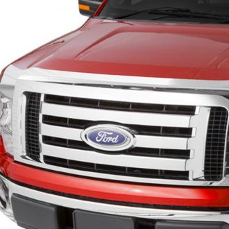 AVS 622040 - Large Aeroskin Chrome Hood Shield