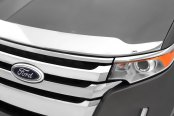 Image may not reflect your exact vehicle! AVS® - Aeroskin™ Chrome Hood Shield