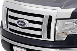 AVS® - Large Chrome Aeroskin™ Hood Shield