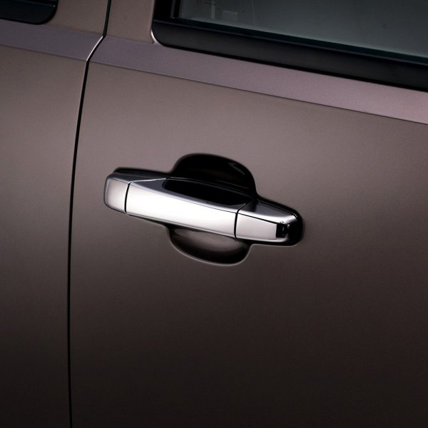 AVS® - Chrome Door Handle Lever Covers Image may not reflect your exact vehicle!