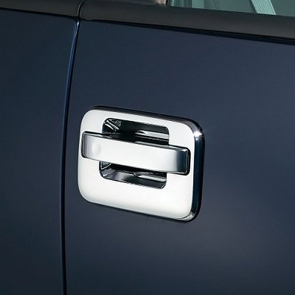 AVS® - Chrome Door Handle Covers Image may not reflect your exact vehicle!