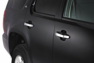 Image may not reflect your exact vehicle! AVS® - Chrome Door Lever Covers