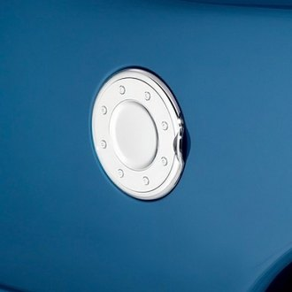 Image may not reflect your exact vehicle! AVS® - Chrome Gas Cap Cover