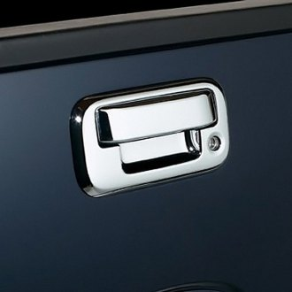 Image may not reflect your exact vehicle! AVS® - Chrome Tailgate Handle Cover