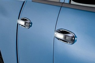 Image may not reflect your exact vehicle! AVS® - Chrome Door Handle Covers
