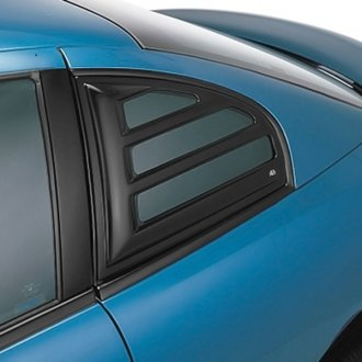 AVS® - Aeroshade™ Black Rear Side Window Covers