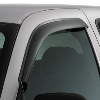 AVS® - Tape-On Standard Ventvisor™ Smoke Front Window Deflectors