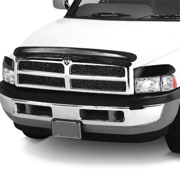 Image may not reflect your exact vehicle! AVS® - Bugflector Deluxe Smoke Hood Shield
