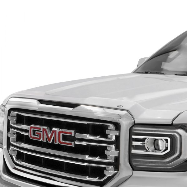 avs gmc sierra 1500 2016 2017 aeroskin factory color match hood shield. Black Bedroom Furniture Sets. Home Design Ideas