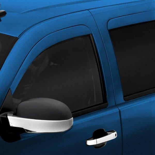 Avs 174 Dodge Ram 2015 In Channel Low Profile Ventvisor