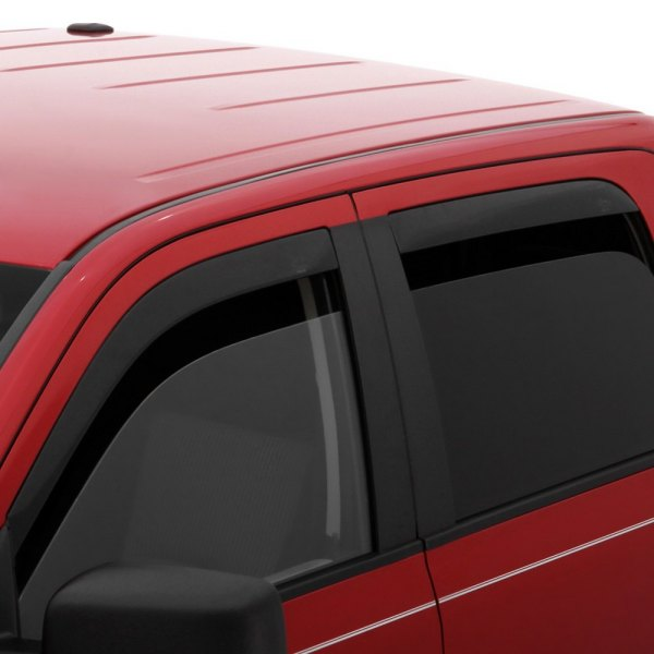 Image may not reflect your exact vehicle! AVS® - In-Channel Low Profile Ventvisor™ Smoke Window Deflectors