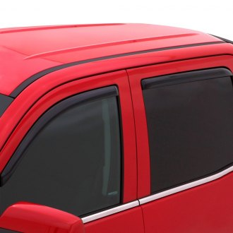 AVS® - In-Channel Ventvisor™ Smoke Front and Rear Window Deflectors