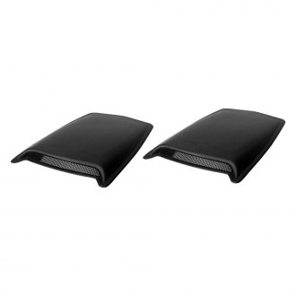 AVS® - Large Black Hood Scoops (Unpainted)