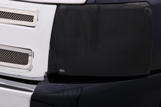 Image may not reflect your exact vehicle! AVS® - Black Headlight Covers