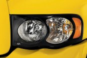 Image may not reflect your exact vehicle! AVS® - Projectorz™ Headlight Covers