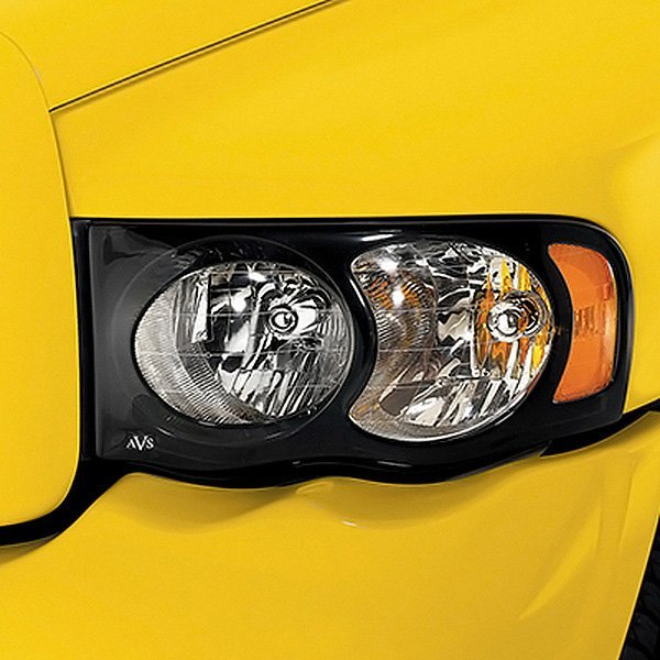 Image may not reflect your exact vehicle! AVS® - Projectorz™ Black Headlight Covers