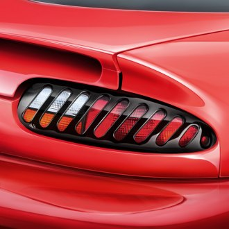 AVS® - Slots™ Black Tail Light Covers