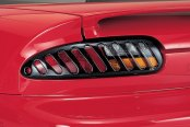 Image may not reflect your exact vehicle! AVS® - Tail Shades II™ Tail Light Covers