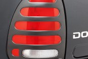 Image may not reflect your exact vehicle! AVS® - Slots™ Tail Light Covers